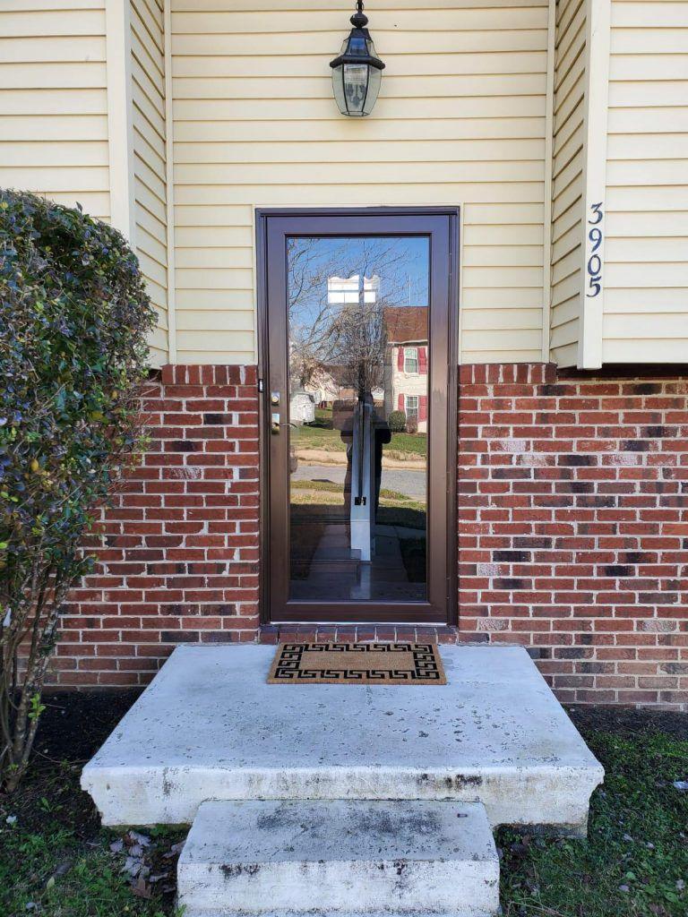 brown-storm-door