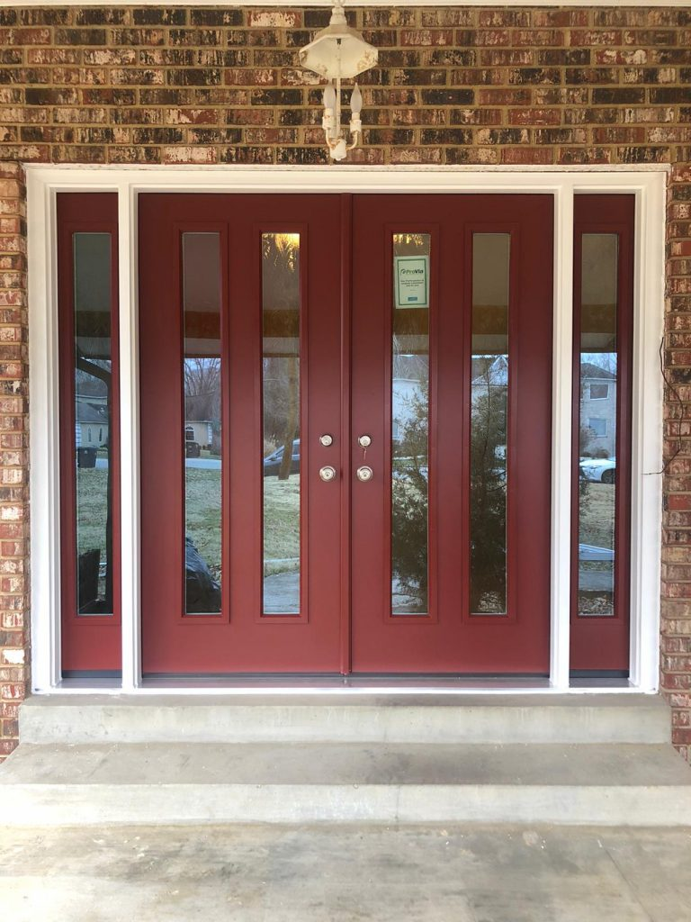 latest front entry door